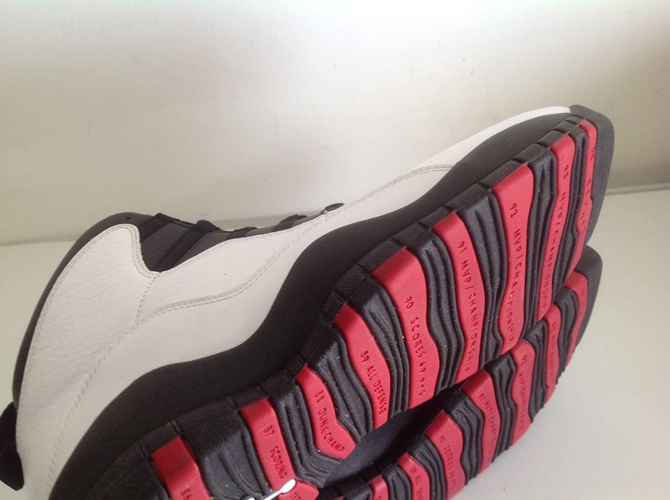 afc8154e7d41 Air Jordan 10 X Retro chicago white varsity red black 310805 100 5 ...