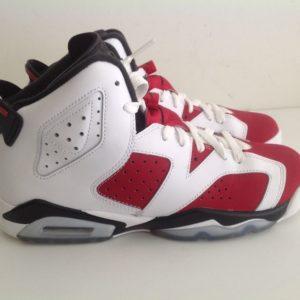 Air Jordan 6 VI Retro Carmine white Red black 384665 160