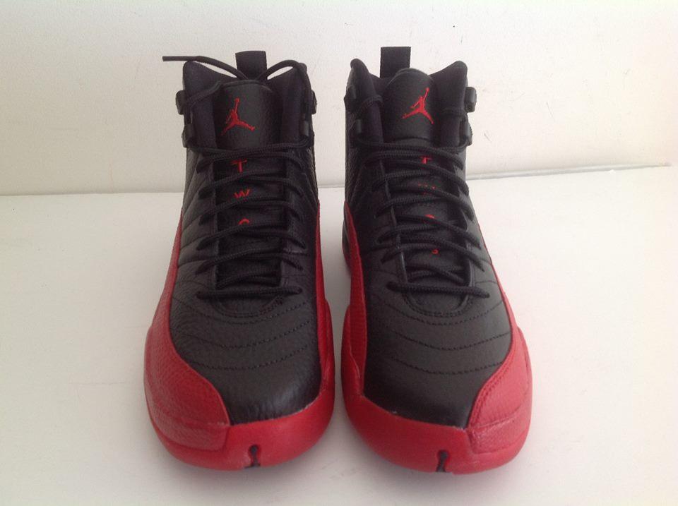 wholesale dealer 79127 b1af4 Air jordan 12 XII retro Flu Game Black Varsity Red 153265 002 3