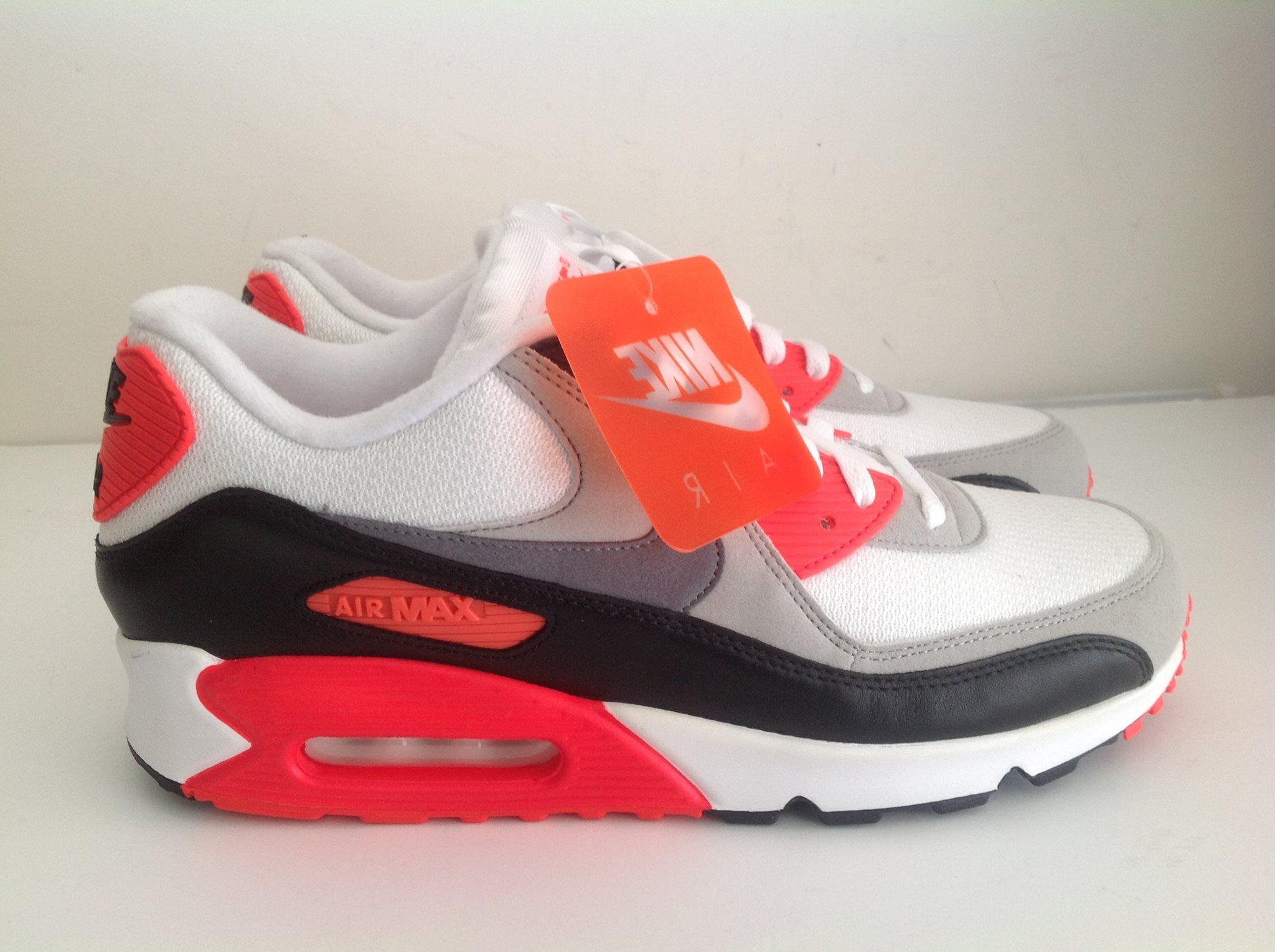 725233 106 Nike Air Max 90 Og Infrared Men Women