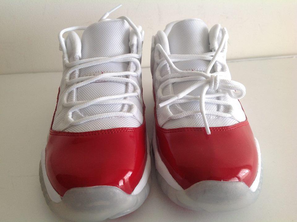 Air jordan 11 retro low bg cherry white varsity red 528896 102 65y 20900 18999 sciox Images