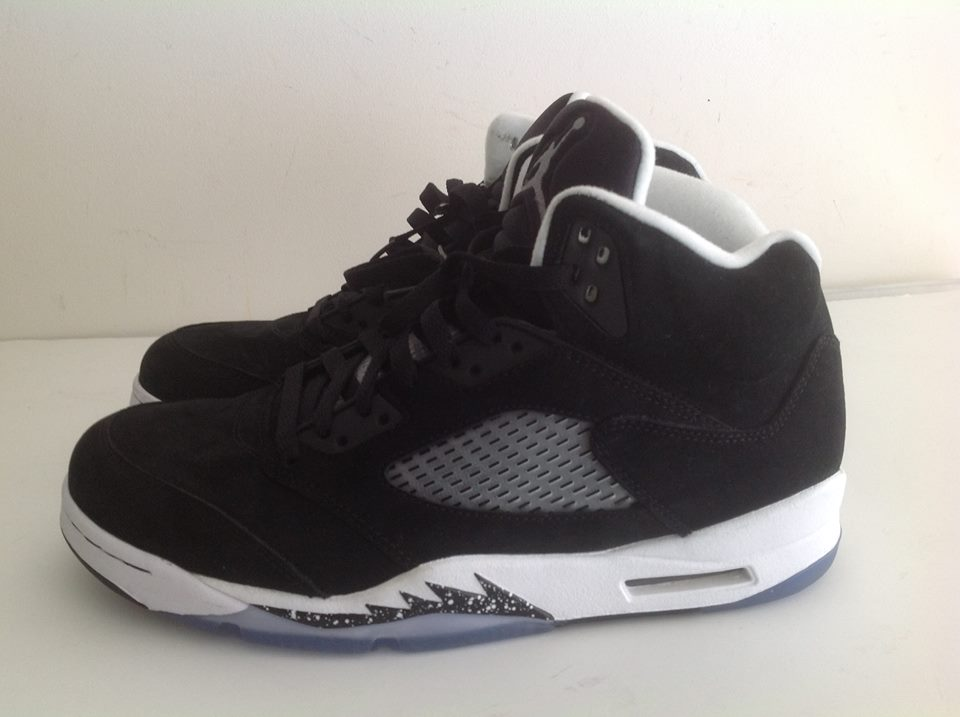 3863b4eedaf31f Air Jordan 5 Retro Oreo Black White 136027 035 1 – Housakicks