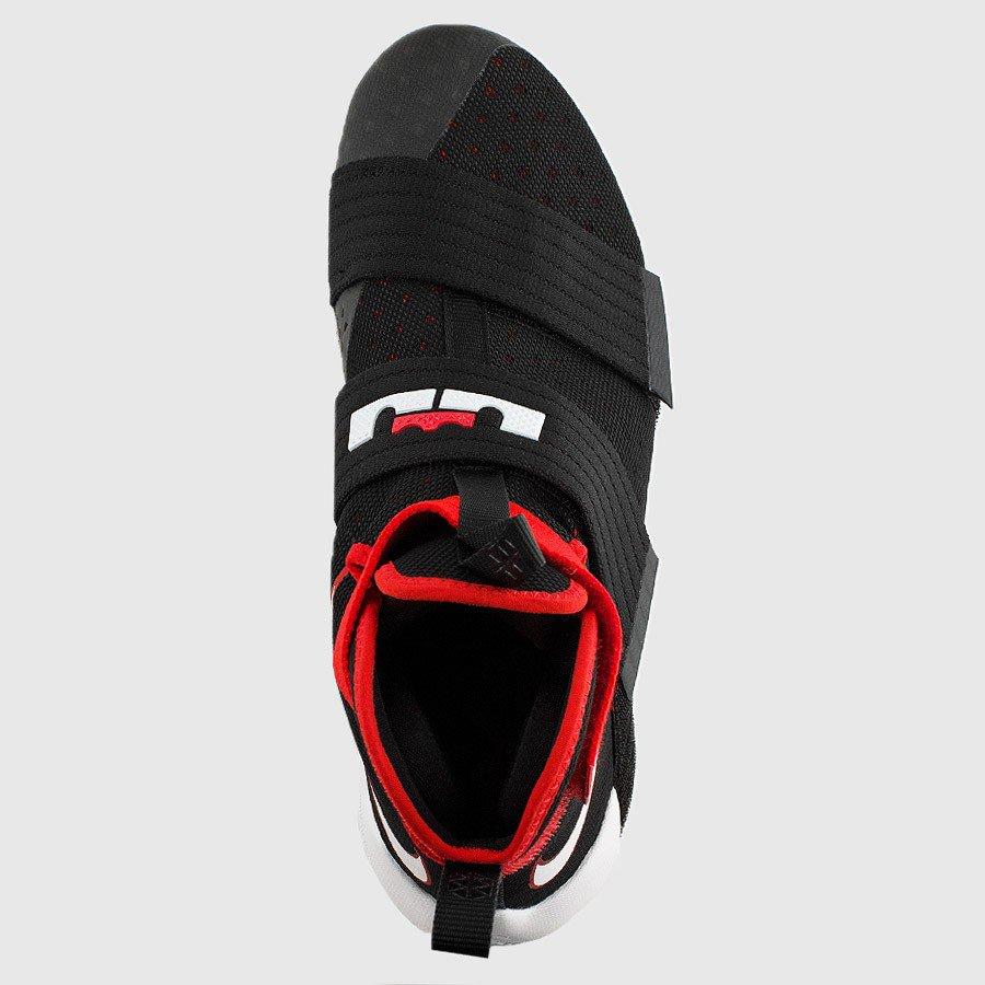 3c336a98e7d Nike Lebron Soldier 10 Black University Red White 844374 016 3 ...