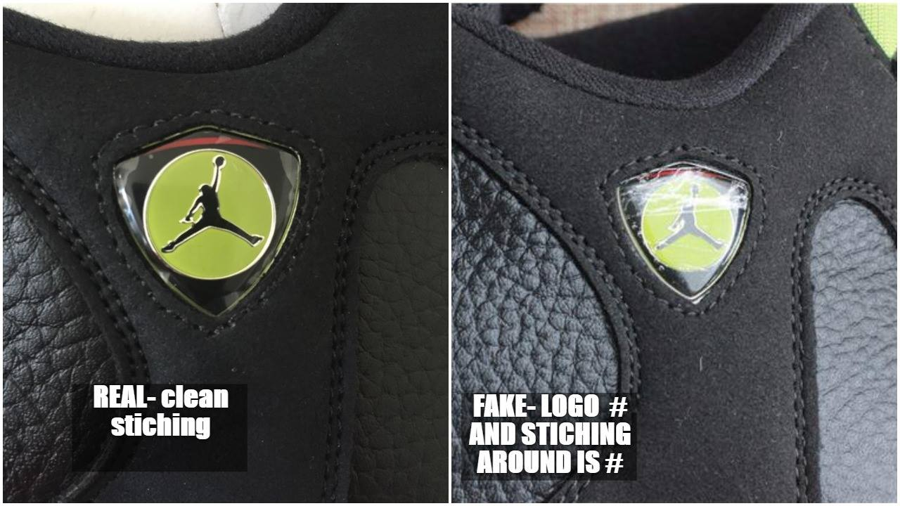 Real VS Fake Air Jordan 14 Retro Indiglo 1