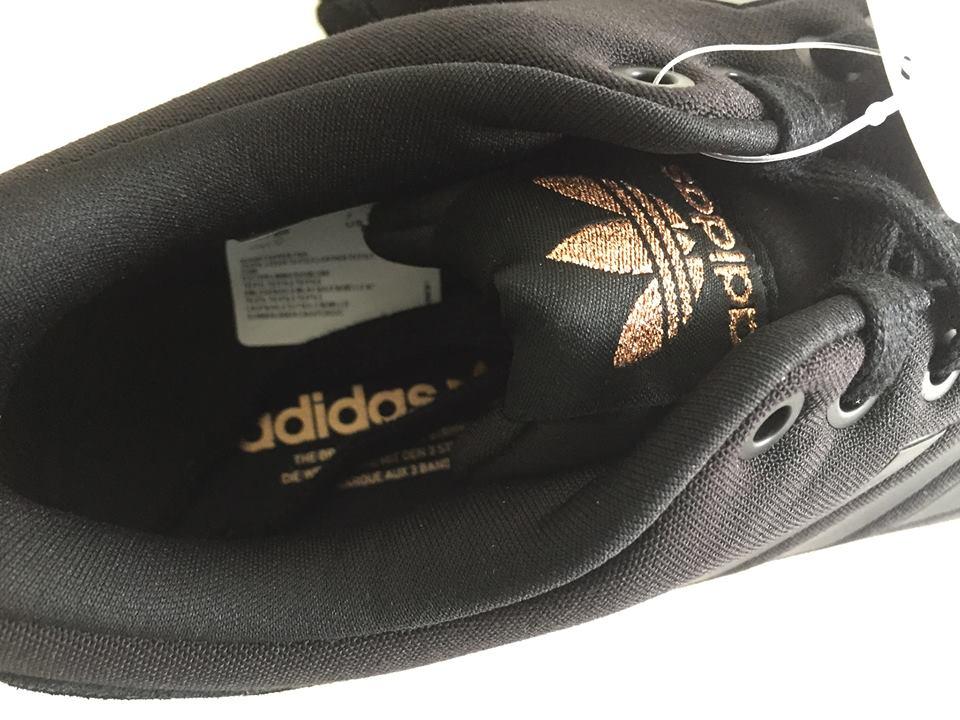 Wmns Adidas ZX Flux Black Copper Metallic Gold S78977 7