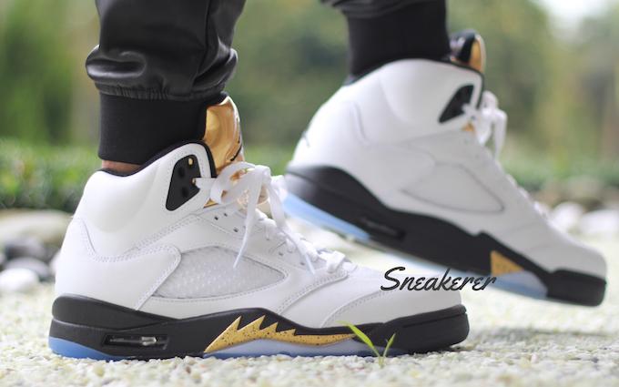 more photos 03363 b8b85 Air Jordan 5 Olympic Gold ...
