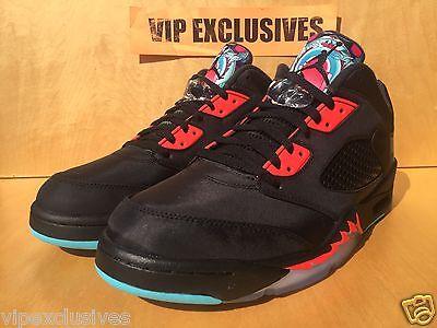 reputable site 10d62 a7df3 Nike Air Jordan V Retro 5 low CNY Chinese New Year Black Crimson Blue  840475-060