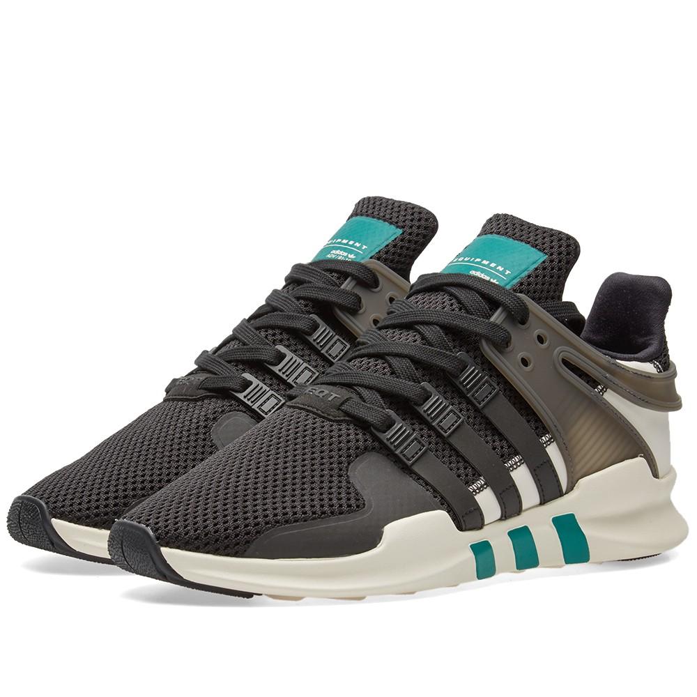 e3c901f8eb06 ... shopping the adidas eqt support adv xeno black green ba8321 releases  today housakicks b0ad6 6b5a8