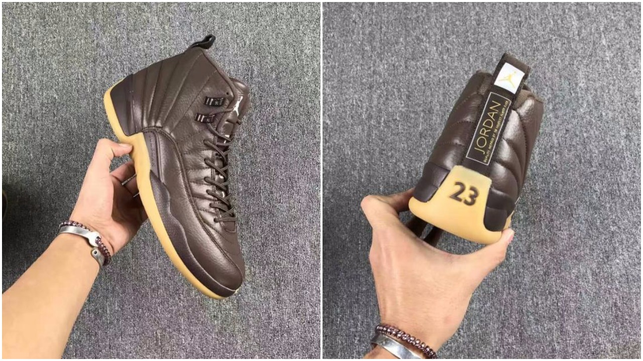 Air Jordan 12 Retro Chocolate Brown Gum Possibly Releasing In 2017 ... 32477bf63