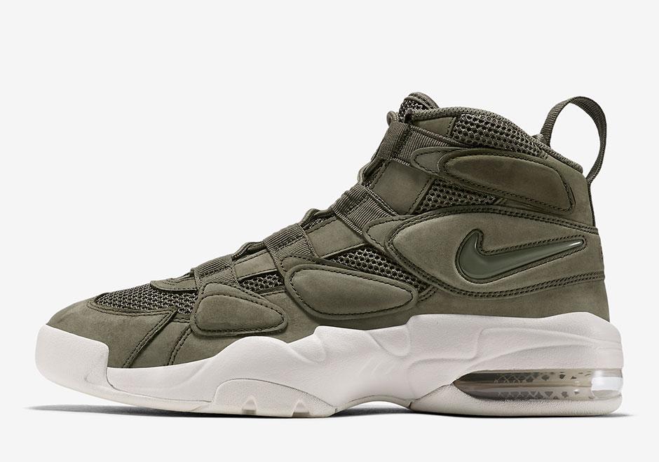Nike iar max uptempo 2 olive  919831-300 919831-001