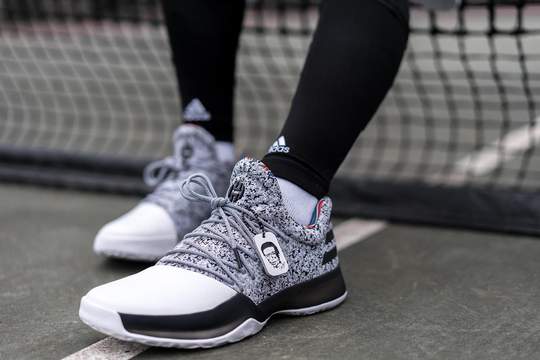 998d01e037f4 1 blue black shoes australia  quick look at the adidas harden vol.1 arthur  ashe bhm