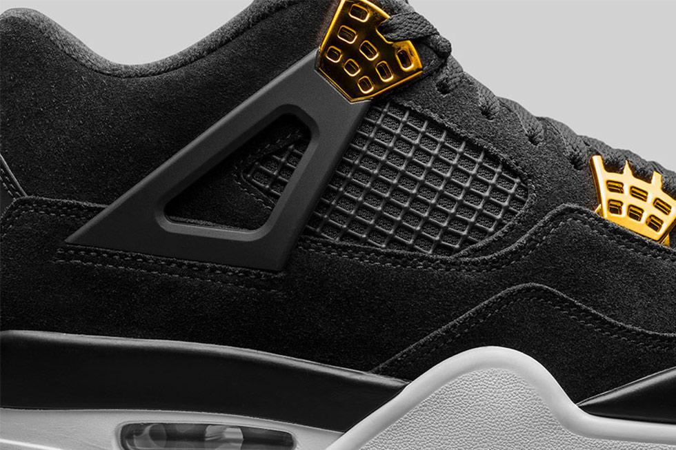 san francisco ff6b0 3b3ce mens air jordan 4 retro royalty basketball shoes black ...