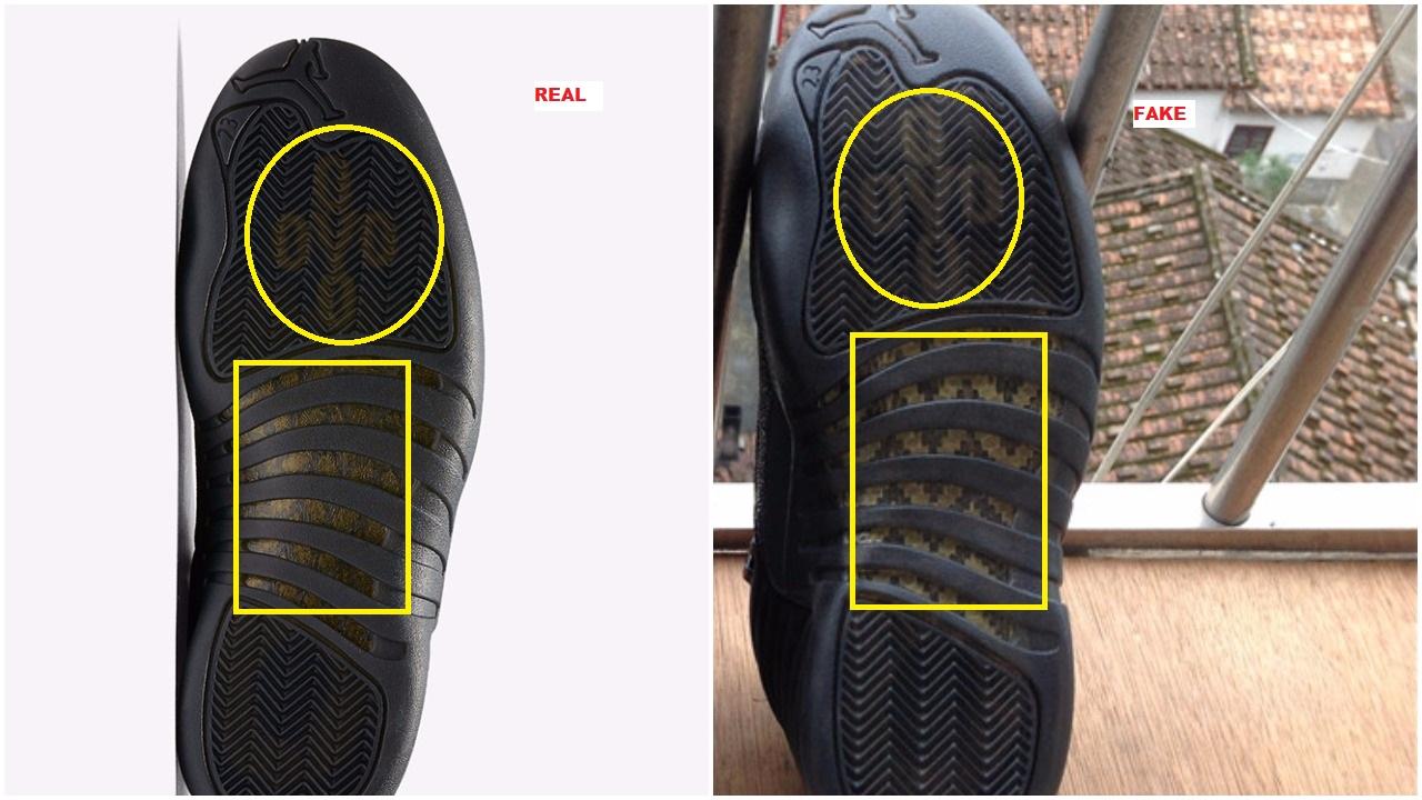 bcec442c9063ec Fake Black Air Jordan 12 OVO Spotted-Quick Tips To Avoid Them ...