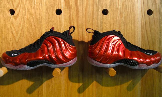 0ffaace53fb Online Nike Air Foamposite One Metallic Red Black 314996-610 ...