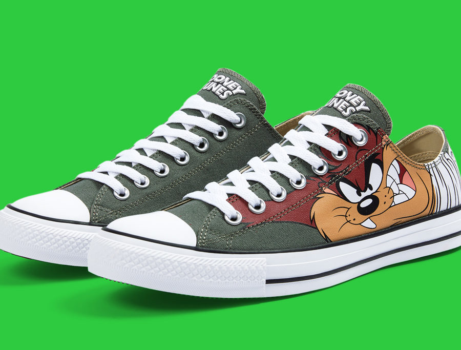 b06681a955 Unisex Converse All Star Low Looney Tunes Taz 158236F