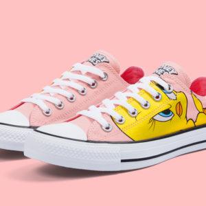 Converse All Star Low Looney Tunes Tweety Bird 158237F