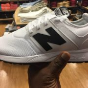 New Balance NB 247 White Black 7