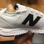 New Balance NB 247 White Black 8