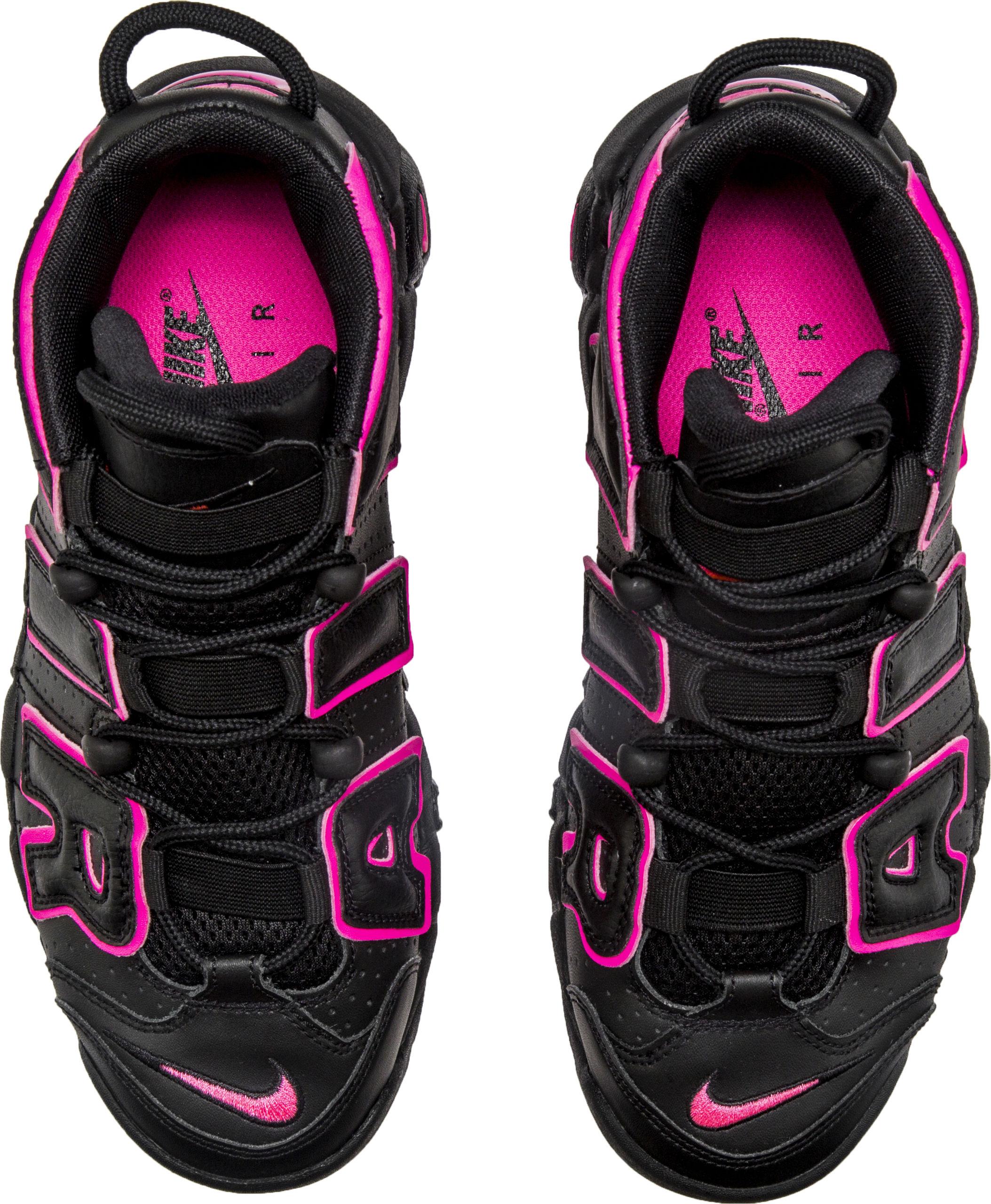 b9d38ee80eb2d Nike Air More Uptempo GS Black Pink 415082 003 4 – Housakicks