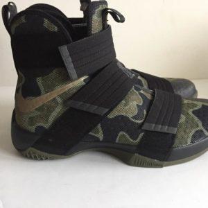 Nike Lebron Soldier 10 SFG Black Camo Bamboo