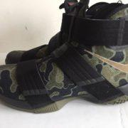 Nike Lebron Soldier 10 SFG Black Camo Bamboo 844378 022 3