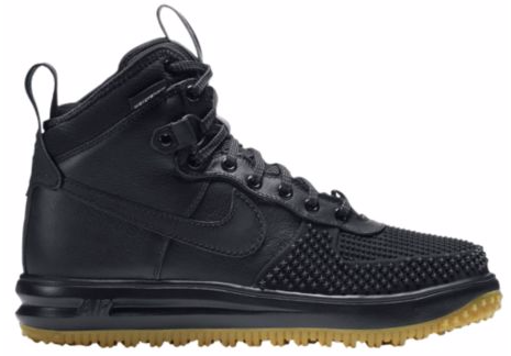 promo code 3afcb a14f7 Men's Nike Lunar Air Force 1 Duckboot Black Gum 805899 003 On Sale ...
