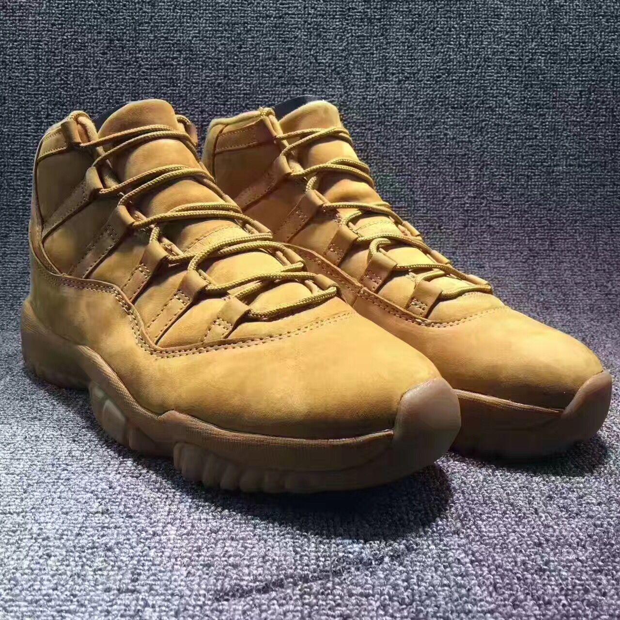 b7249f7c00f4 JB Might Be Releasing These Air Jordan 11 PSNY Wheat – Housakicks