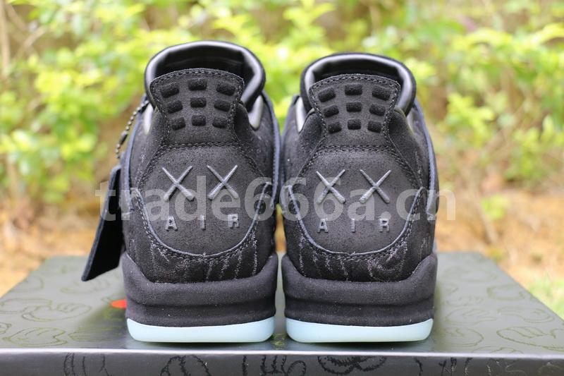 faf3b93caa0411 Is A Black Pair Of The Air Jordan 4 IV Kaws In The Making  – Housakicks