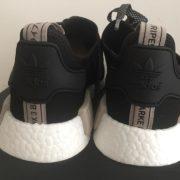 Adidas NMD R1 Core Black Tan Cream 2