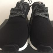 Adidas NMD R1 Core Black Tan Cream 3