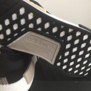 Adidas NMD R1 Core Black Tan Cream 5