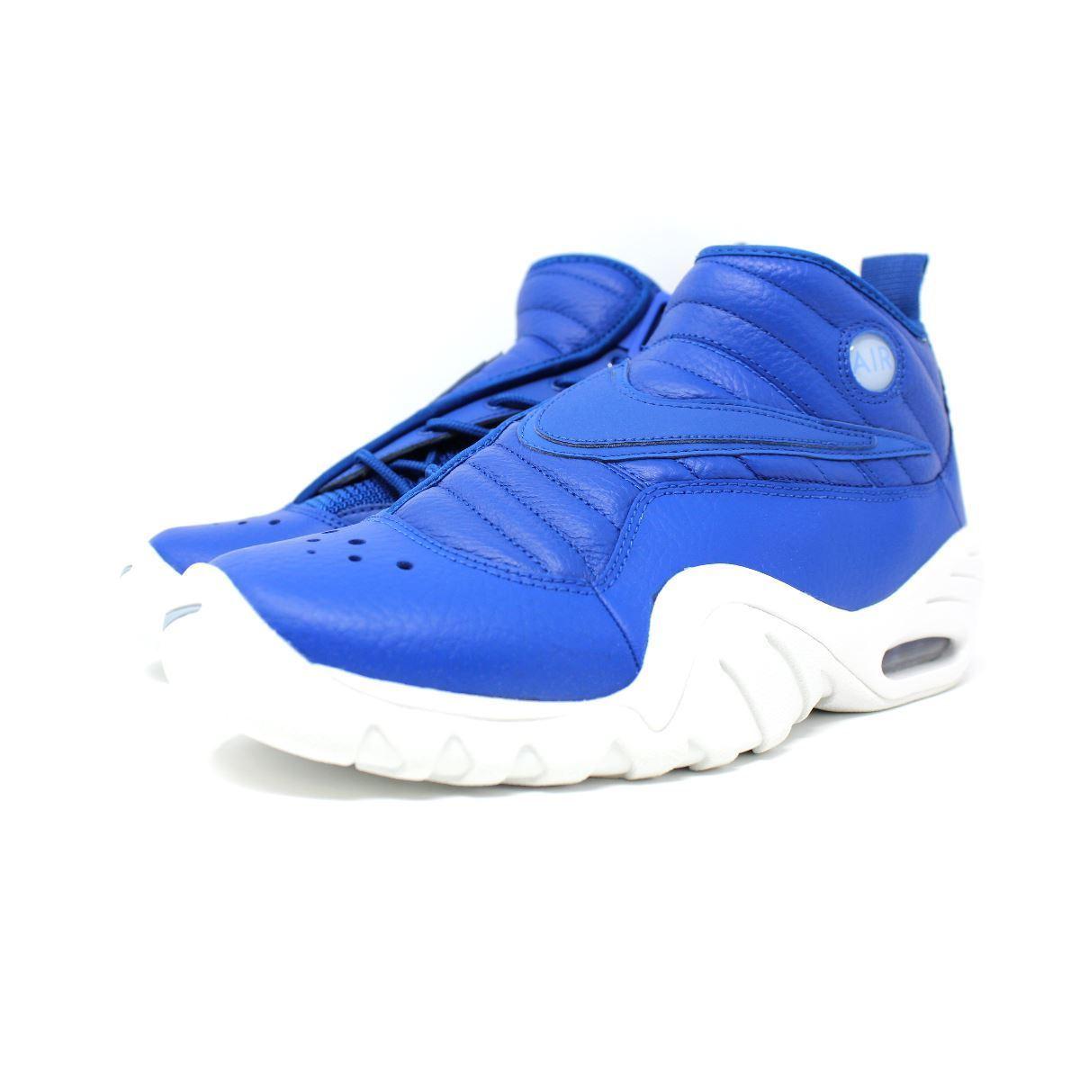 Available Below Retail  Blue White Nike Air Shake Ndestrukt 880869 ... e8474c726