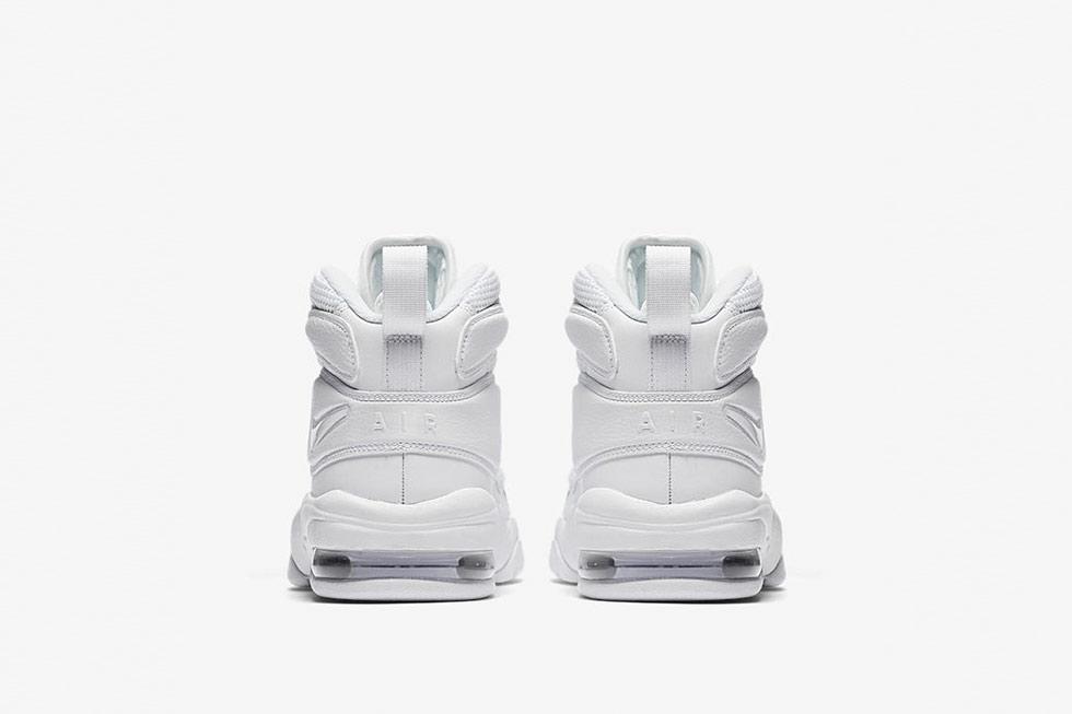 94a3bd2643 Men's Nike Air Max Uptempo 2 Size 9 472490-001 Black Navy Blue White