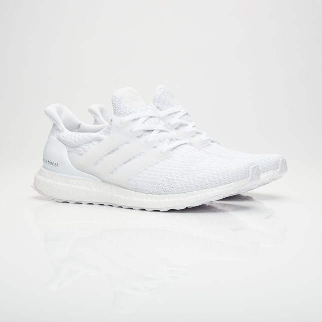 bf93a3f24de4b Adidas Ultra Boost Triple White BA8841