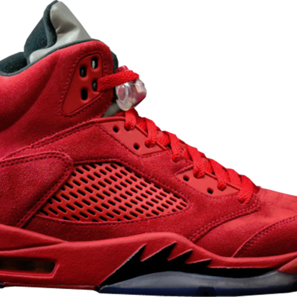 Air Jordan 5 V Retro University Red Suede136027-602