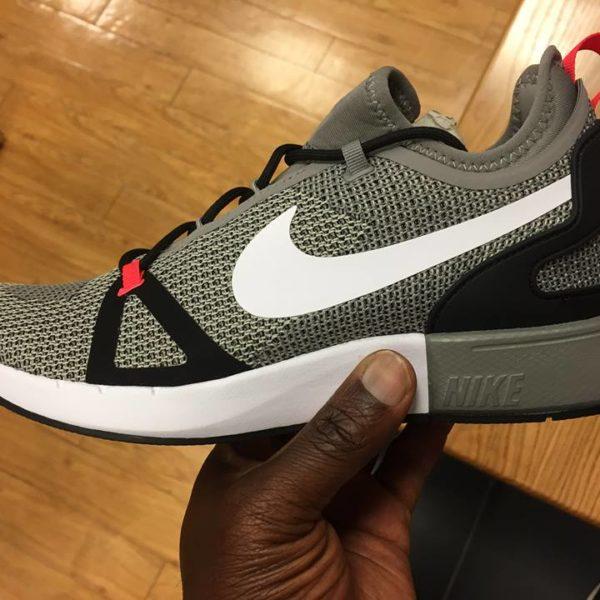 Nike Duel Racer Grey Black Red 918228 008 4