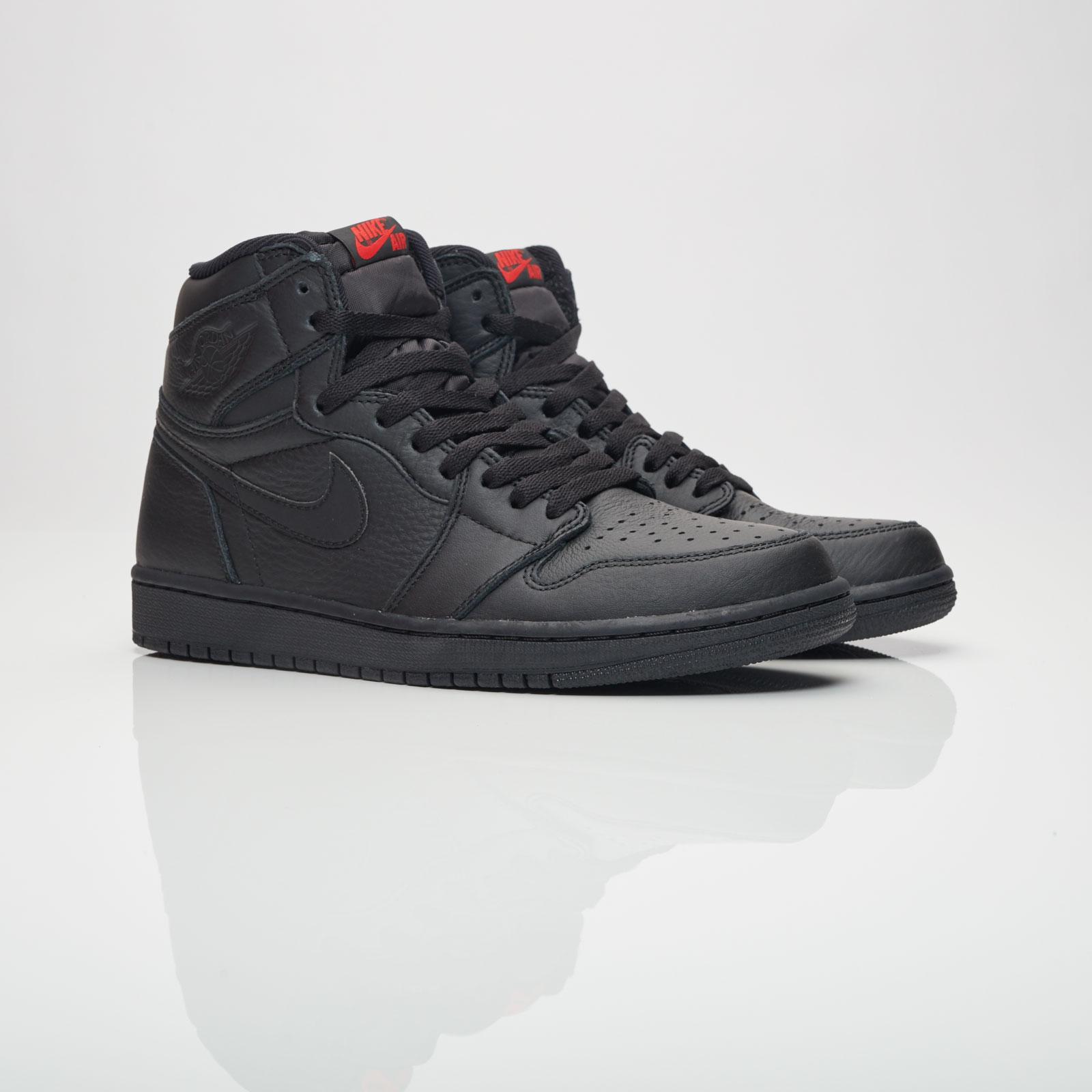 9ab8465c7a9992 The Triple Black Air Jordan 1 Retro High 555088 022 Is Available Now ...