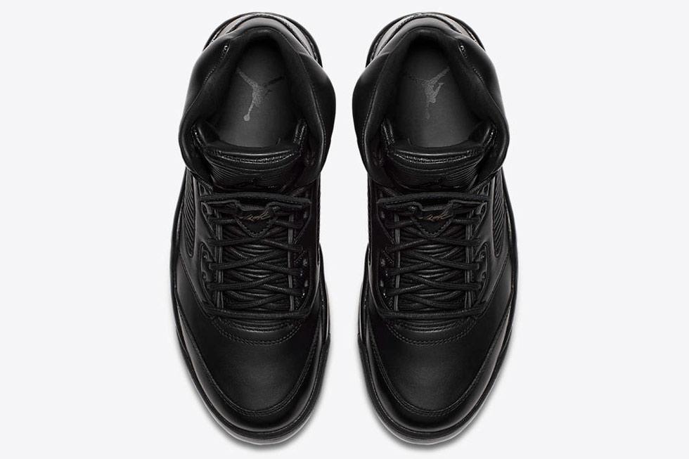 0d535821db3 Air Jordan 5 Flight Premium Triple Black 881432-010 | Buy It Now ...