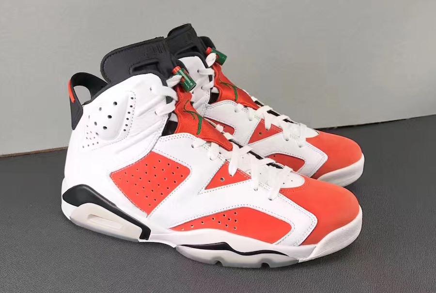 more photos d096c 46369 Air Jordan 6 Gatorade Or Carmine 384664 145 | Nobody Cares ...