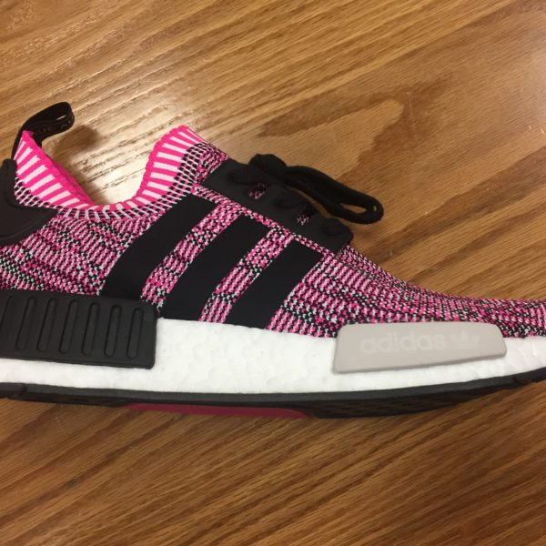 Women's Adidas NMD R1 Shock Pink Core White BB2363