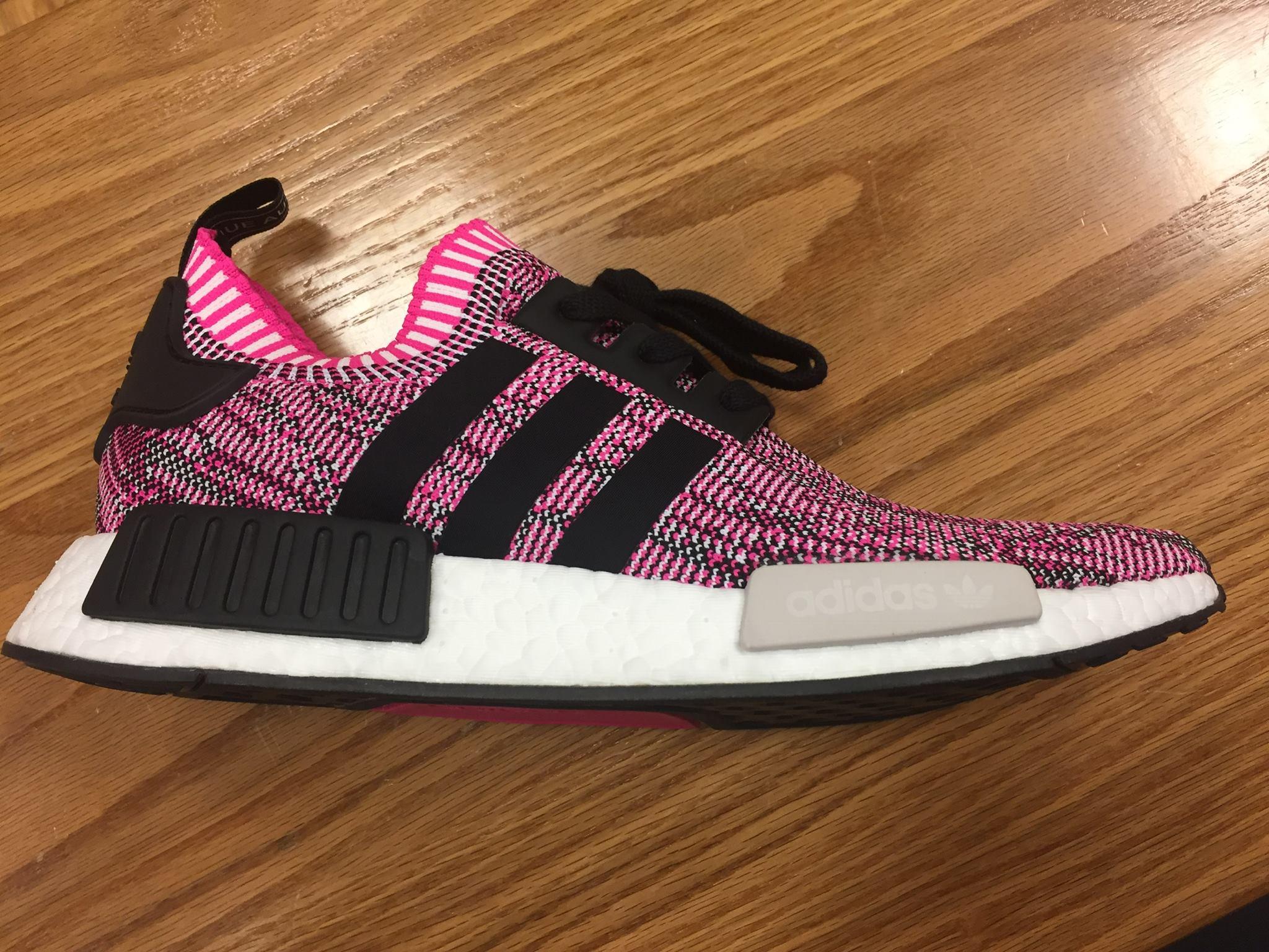 78da62d173432 Women s Adidas NMD R1 Shock Pink Core White On Sale Now New – Housakicks