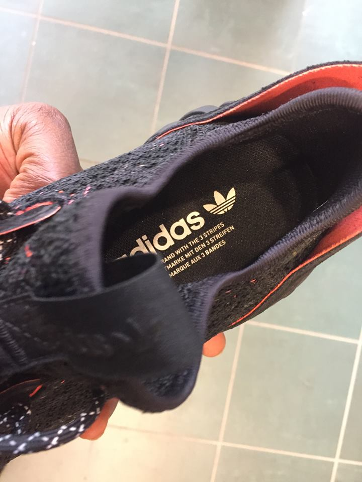Adidas Originals Rørformet Undergang Sokk Primeknit Gjennomgang v7vavijNy