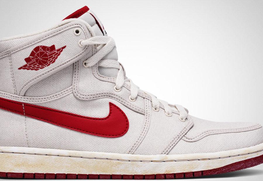 4a48b1461b Men's Air Jordan 1 KO White Red 638471 102 ( Sz9-13) On Sale