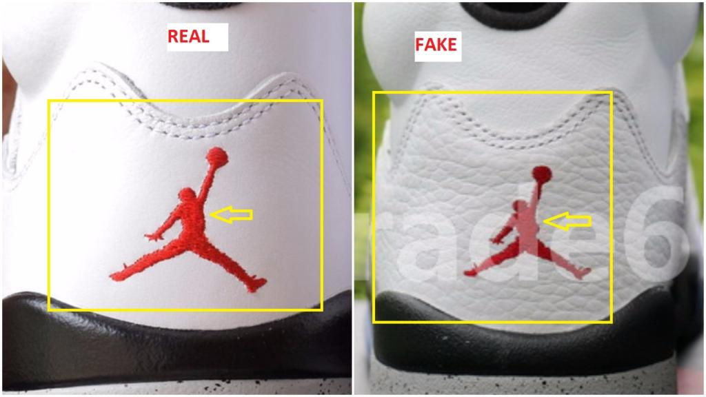 info for 24673 db30c Fake Air Jordan 5 V White Cement Spotted-Quick Ways To ...