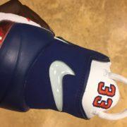 Nike Air more Uptempo 96 NYC Knicks #33 White Blue Orange 921948 101 4