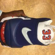 Nike Air more Uptempo 96 NYC Knicks #33 White Blue Orange 921948 101 6