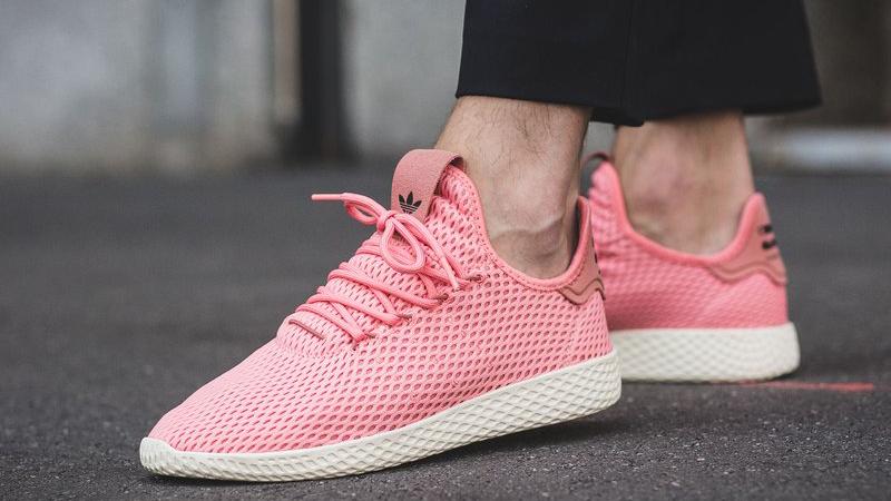 4fd561655 pharrell adidas tennis hu raw pink release date