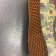 Unisex Vans Sk8 Hi Velcro Classic Camouflage Print 2
