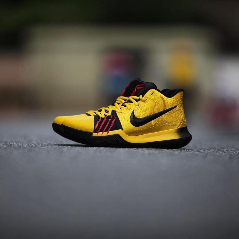 fbf0e3db1533 A Closer Look At The Bruce Lee Nike Kyrie 3 kobe Mentality