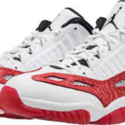 Air Jordan 11 Low IE White Red 919712 101 3